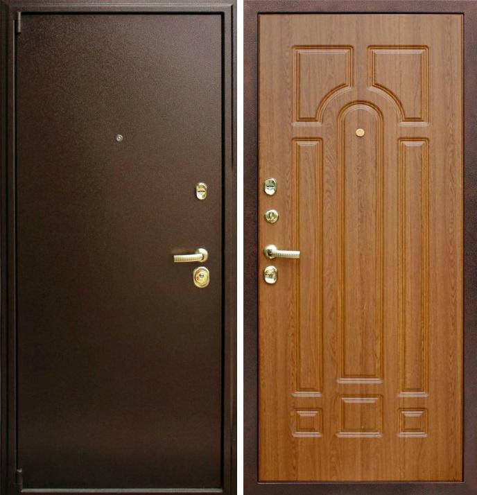 дверь входная со львом металл