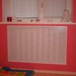 Экран на радиатор отопления