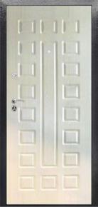 Дверь стальная Стандарт с МДФ